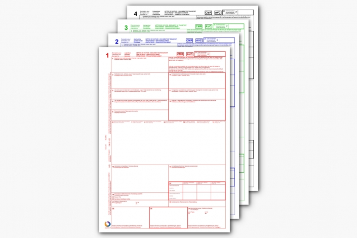Volledige CMR printen met EasyTrans TMS Software