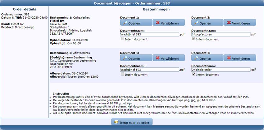 Documentopslag module - Document bijvoegen
